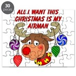 Christmas I want my Airman Puzzle