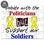 Debate Politicians Support So Puzzle