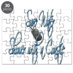 Shower with a Coastie Puzzle