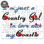 Country Gal Coastie Love Puzzle