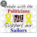 Debate Politicians but Suppor Puzzle