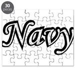 Black and White Navy Puzzle