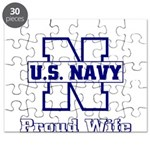 Navy Proud Wife Puzzle