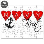 Navy Brat hearts Puzzle