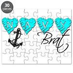 Navy Brat hearts ver2 Puzzle