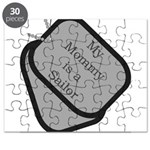 My Mommy is a Sailor dog tag Puzzle