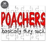 Poachers basically they suck Puzzle