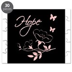 Breast Cancer Hope Puzzle