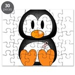 Breast Cancer Penguin Puzzle