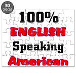 English Speaking American Puzzle