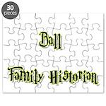 Ball Family Historian Puzzle