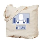 Like Weights Tote Bag