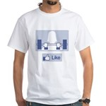 Like Weights White T-Shirt