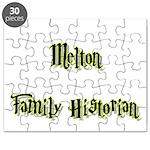 Melton Family Historian Puzzle