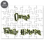 Owens Family Historian Puzzle