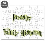 Pressley Family Historian Puzzle