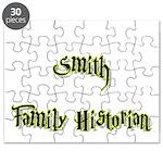 Smith Family Historian Puzzle