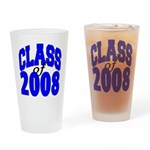 Class of 2008 Drinking Glass