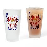 Seniors 2008 Drinking Glass