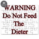 Warning do not feed the diete Puzzle