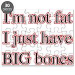 I'm not fat I just have big b Puzzle