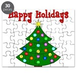 Happy Holidays Puzzle