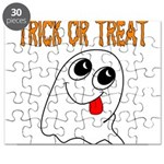 Trick or Treat Ghost Puzzle