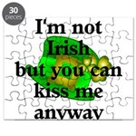 Not Irish Kiss Me Hat Puzzle
