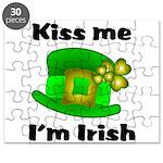 Kiss Me I'm Irish Hat Puzzle
