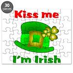 Kiss Me I'm Irish Hat ver2 Puzzle