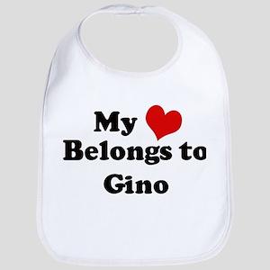 My Heart: Gino Bib
