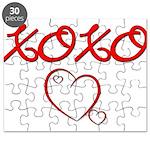 XOXO Heart Puzzle