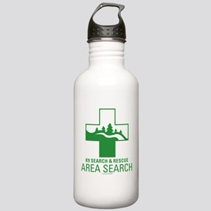 Area Search Crosses Stainless Water Bottle 1.0L