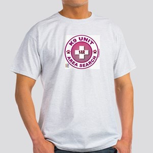 Area Search Circles Light T-Shirt