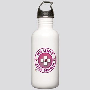Area Search Circles Stainless Water Bottle 1.0L