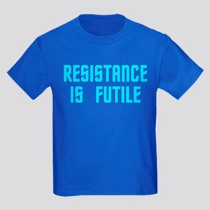 Resistance is Futile Kids Dark T-Shirt