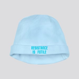 Resistance is Futile baby hat