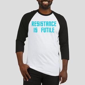 Resistance is Futile Baseball Jersey