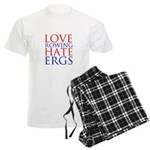 Love Rowing - Hate Ergs Men's Light Pajamas