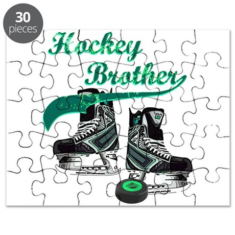 Hockey Brother - Blue Puzzle