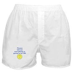 Please tell me.... Boxer Shorts