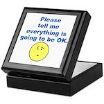 Please tell me... Keepsake Box