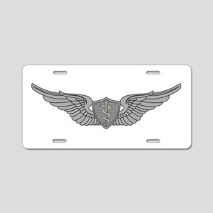 Flight Surgeon Aluminum License Plate