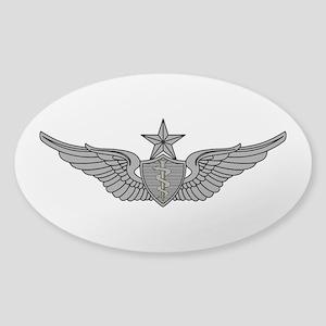 Flight Surgeon - Senior Sticker (Oval)