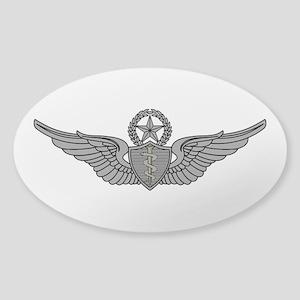 Flight Surgeon - Master Sticker (Oval)