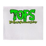 TOPS Logo Throw Blanket
