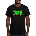 TOPS Logo Men's Fitted T-Shirt (dark)