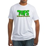 TOPS Logo Fitted T-Shirt