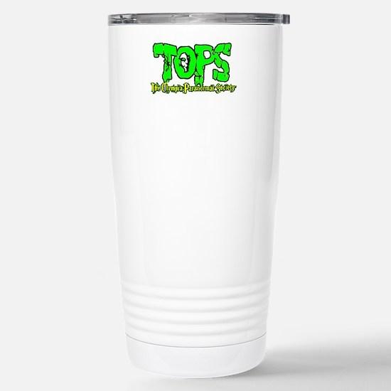 TOPS Logo Stainless Steel Travel Mug
