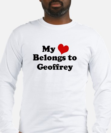 My Heart: Geoffrey Long Sleeve T-Shirt